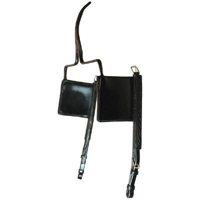 Walsh Leather Blinds for Race Bridle
