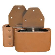 Blevins Buckle 3in. Leather Covered - TB