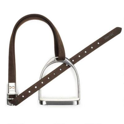 Wintec Slimline Stirrup Leathers Brown 54 inch