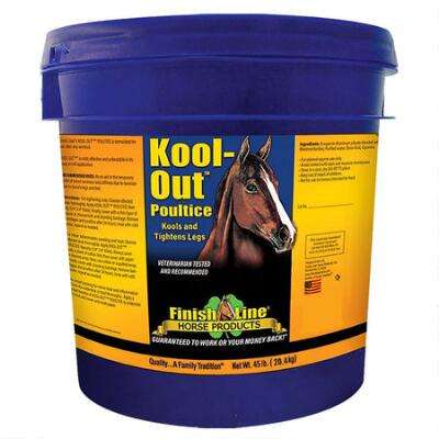 Finish Line Kool Out Poultice 45 lb