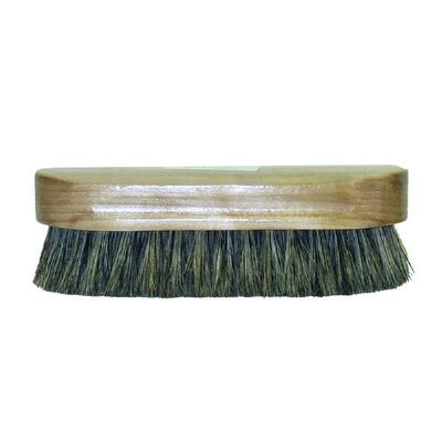 Body Brush Synthetic and Natural Bristles Wood Back 6.25 in