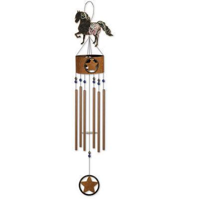 Country Horse Wind Chime 36 inch