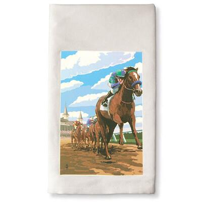 Down the Stretch Kitchen Towel