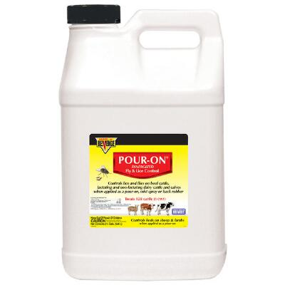 Pour On Fly & Lice Control 2.5 Gallon