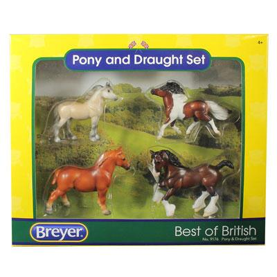 Stablemates Best of British Pony and Draught Set