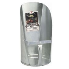 Little Giant Galvanized Feed Scoop 6 Quart - TB