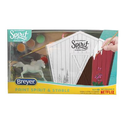 Breyer Spirit Horse and Stable Painting Kit