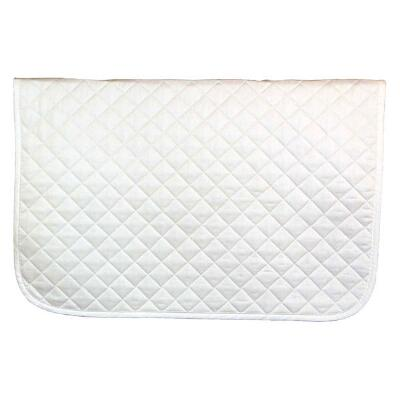 White Baby Pad 27 X 34.5 with Color Trim