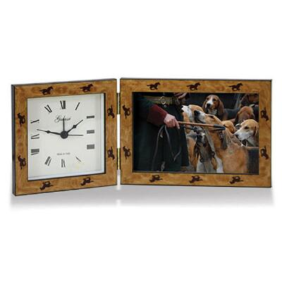 Gallop Desktop Clock and Frame