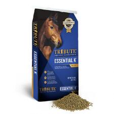 Tribute Essential K with Fly Control Pellets 50lbs - TB