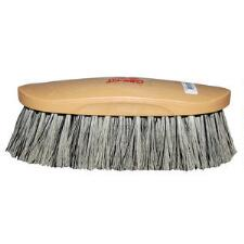 Decker Showman Brush Grey Stiff Bristle - TB