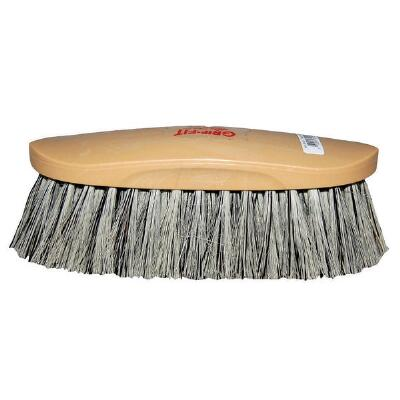 Decker Showman Brush Grey Stiff Bristle
