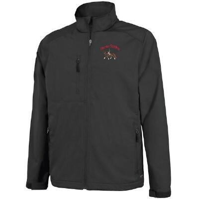 Axis Soft Shell Mens Jacket with Left Chest Embroidery