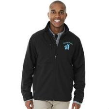 Axis Soft Shell Mens Jacket with Left Chest Embroidery - TB