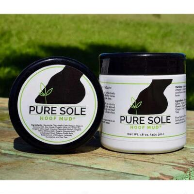 Pure Sole Natural Hoof Mud 16 oz