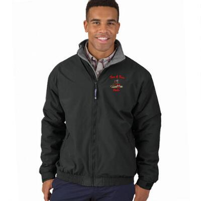 Fleece-Lined 3 Season Jacket Left Chest Embroidered