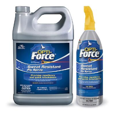 Opti-Force Sweat Resistant Fly Spray 32 oz