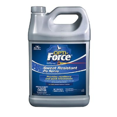 Opti-Force Sweat Resistant Fly Spray Gallon