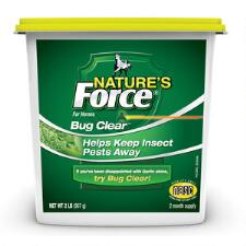 Manna Pro Natures Force Bug Clear Feed Thru 2 lb - TB