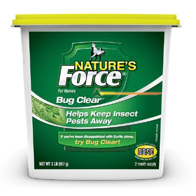 Manna Pro Natures Force Bug Clear Feed Thru 2 lb