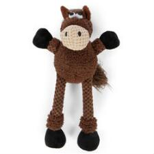 GoDog Checkers Skinny Horse Dog Toy - TB