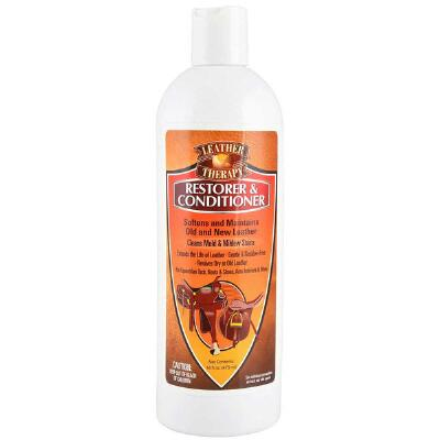 Leather Therapy Leather Restorer & Conditioner 16 oz