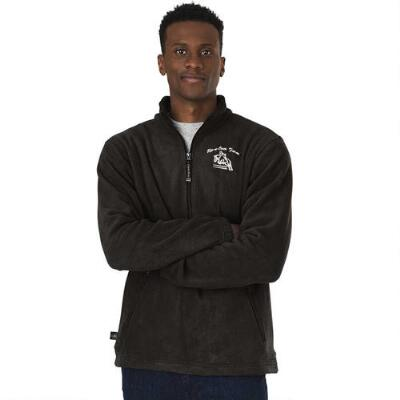 Adult Fleece Pullover with Custom Left Chest Embroidery