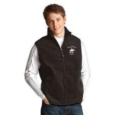 Custom Mens Fleece Vest with Left Chest Embroidery - TB