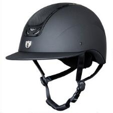Tipperary Royal Wide Brim Helmet - Carbon Leather Top - TB
