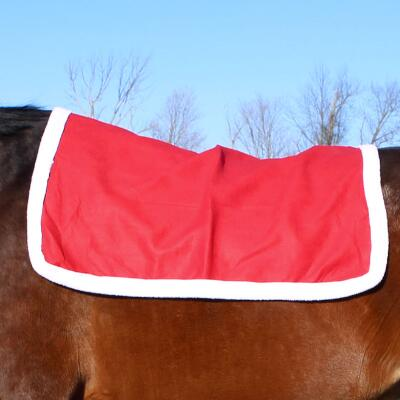 Holiday Horse Saddle Pad Cover