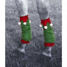 Holiday Horse Leg Wraps - Set of 4 - TB