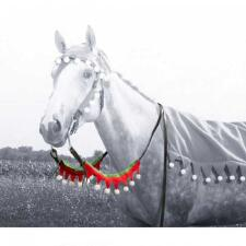 Holiday Horse Rein Covers - Set of 2 - TB