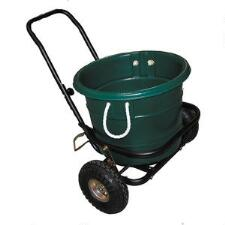 Muck Cart With Pneumatic Wheels