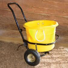 Muck Cart With Pneumatic Wheels - TB