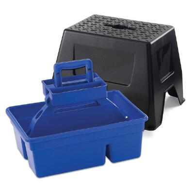 Little Giant DuraTote Stool and Tote Box