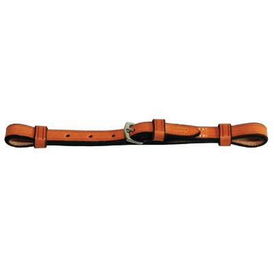 Curb Strap For Thoroughbred Bridle Light Oil