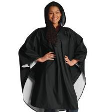 Custom Adult Poncho with Left Chest Embroidery - TB