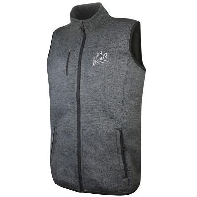 Custom Men's Vest with Left Chest Embroidery