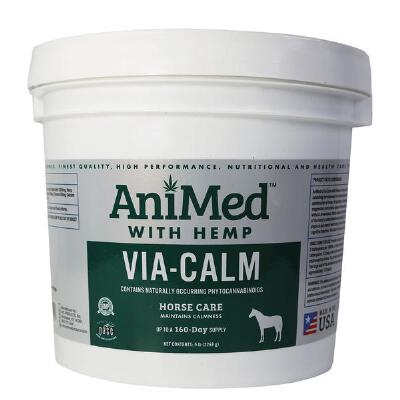 AniMed Via Calm with Hemp 5 lb Jar