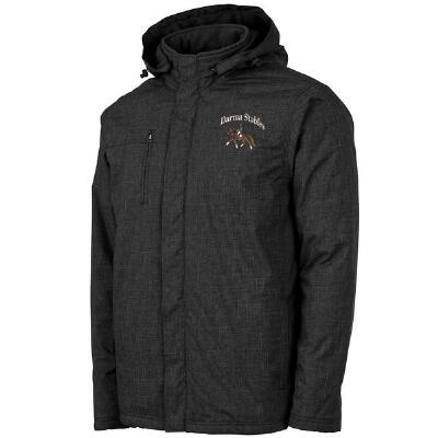 Custom Mens Parka with Embroidery