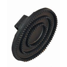 Black Rubber Curry Comb - TB
