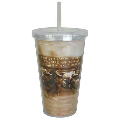 Final Stretch Cool Cup with Straw