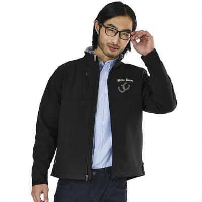 Ultima Soft Shell Mens Jacket Left Chest Embroidered