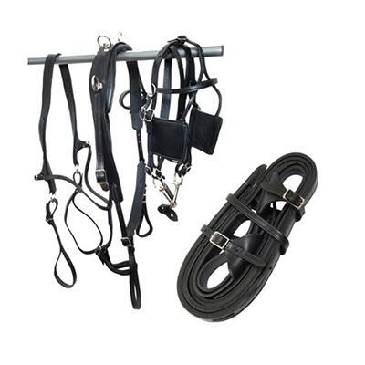 Leather Driving Harness for Ponies and Minis