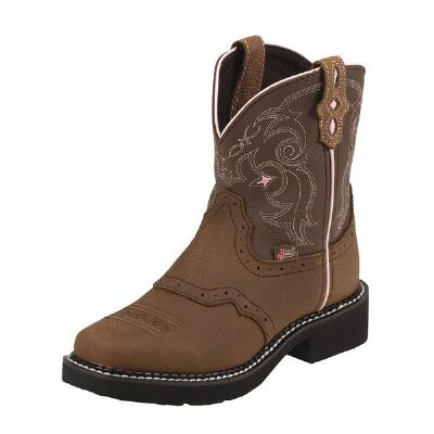 Gypsy Jr Bay Apache Square Toe Kids Western Boot