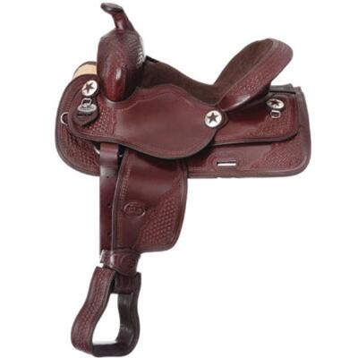 Trail Saddle Youth Saddle Pkg Dark Oil
