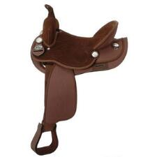 King Series Youth Synthetic Trail Saddle Package - Brown - TB