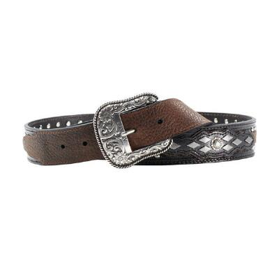 Ariat Embellished and Overlayed Mens Belt