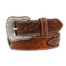 Ariat Ostrich Embossed Mens Belt - TB