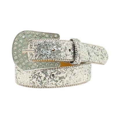 Ariat Silver Glitter Girls Belt